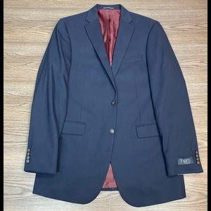 Hart Schaffner Marx NWT Navy Blue Blazer 44L
